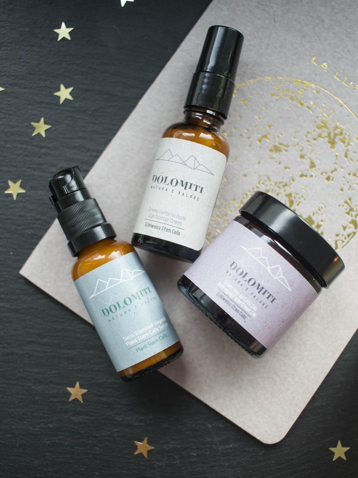 Dolomiti-naturalna-pielęgnacja-kosmetyki