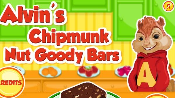 Alvin's Chipmunk Nut Goody Bars