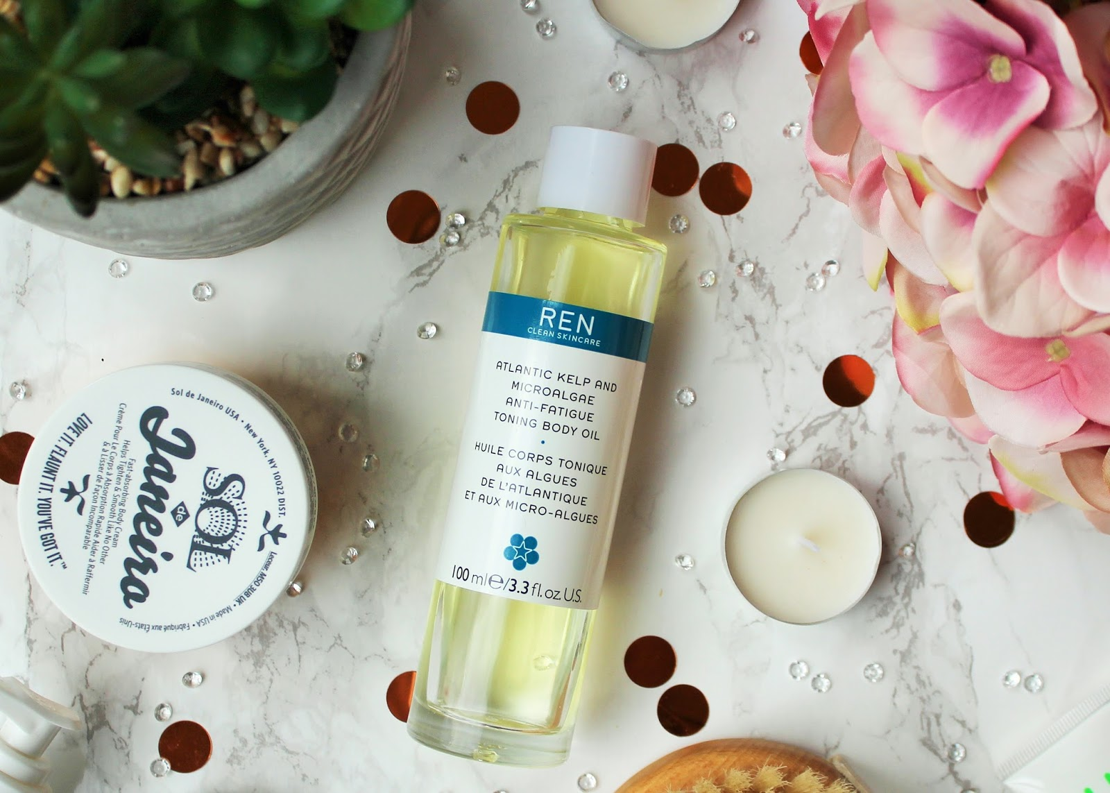 My Favourite Body Firming Products - 5 - Ren Atlantic Kelp And Microalgae Anti-Fatigue Toning Body Oil