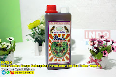 Madu Seribu Bunga Kelengekng Royal Jelly Dan Bee Pollen 1000 Ml