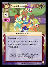My Little Pony Acrobatics Act Equestrian Odysseys CCG Card
