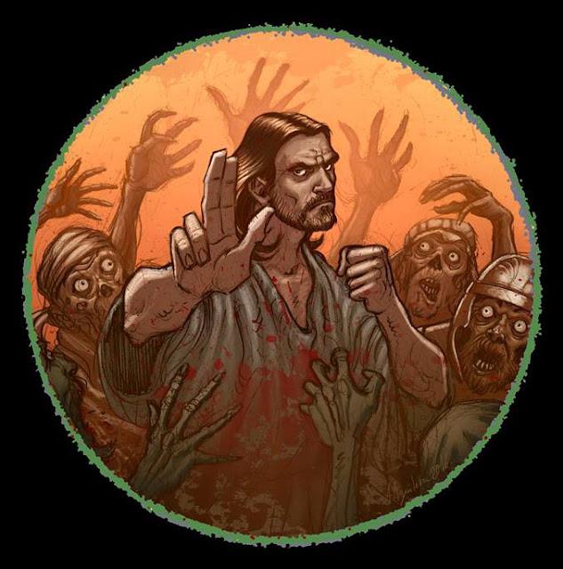 Fist of Jesus (artwork di Juan Aguilera)