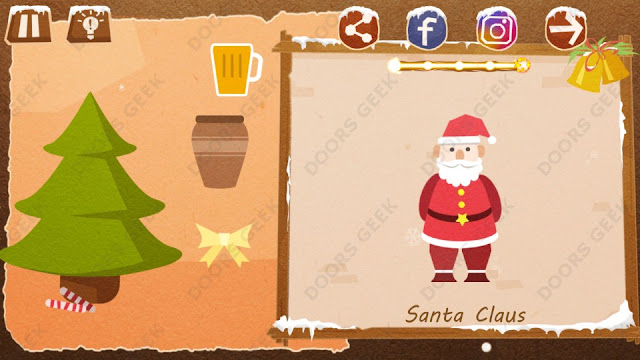 Chigiri: Paper Puzzle Christmas Pack Level 25 (Santa Claus) Solution, Walkthrough, Cheats