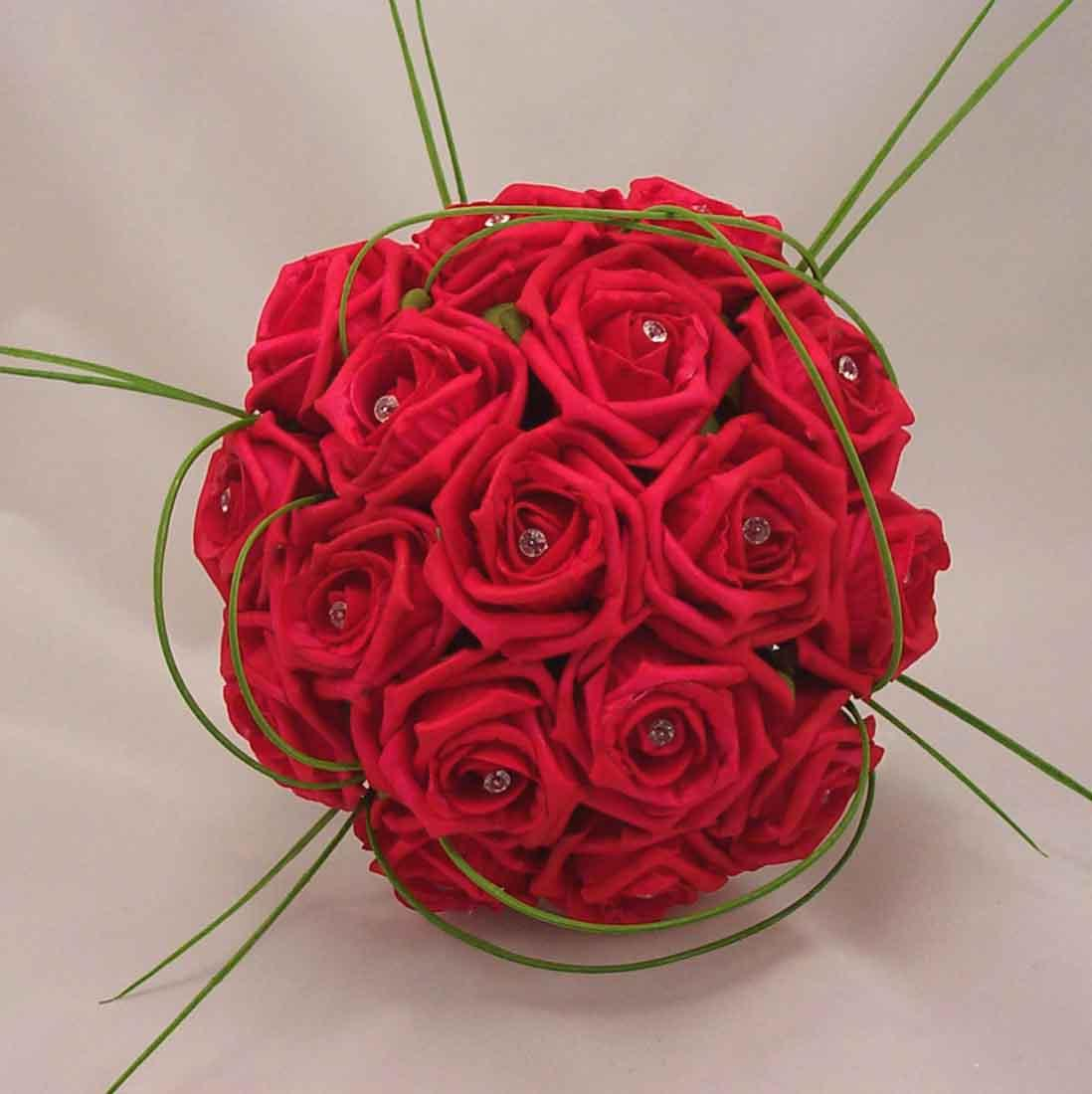 red rose bridal bouquet flowers mehndi disigns