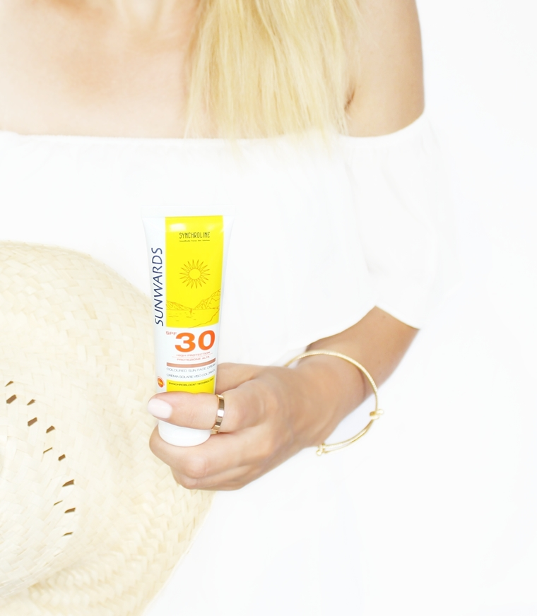 Synchroline Sunwards Krem koloryzujący do twarzy z filtrem ochronnym SPF 30