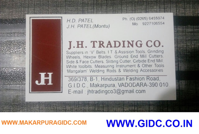 J H TRADING CO - 9227106554
