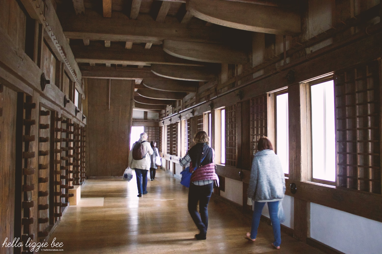 himeji castle interior