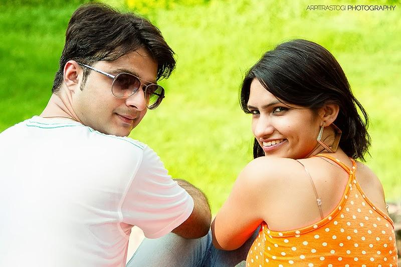 Indian Couple Honey Moon In Goa