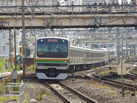 【そんな行先あるの?】湘南新宿ライン 新宿経由 快速 小金井行き1 E231系
