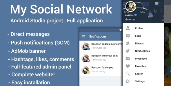 Social network android