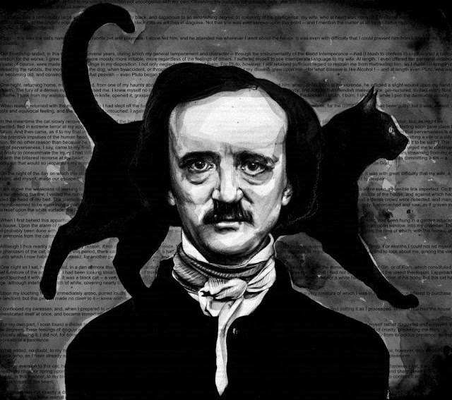 Edgar Allan Poe, Blog Mortalha