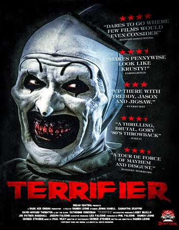 Poster Of Hollywood Film Watch Online Terrifier 2017 Full Movie Download Free Watch Online 300MB