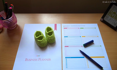 Etsy: Business (or) Work at Home Printable Planner PDF