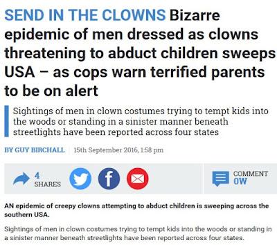 Clown crime part one