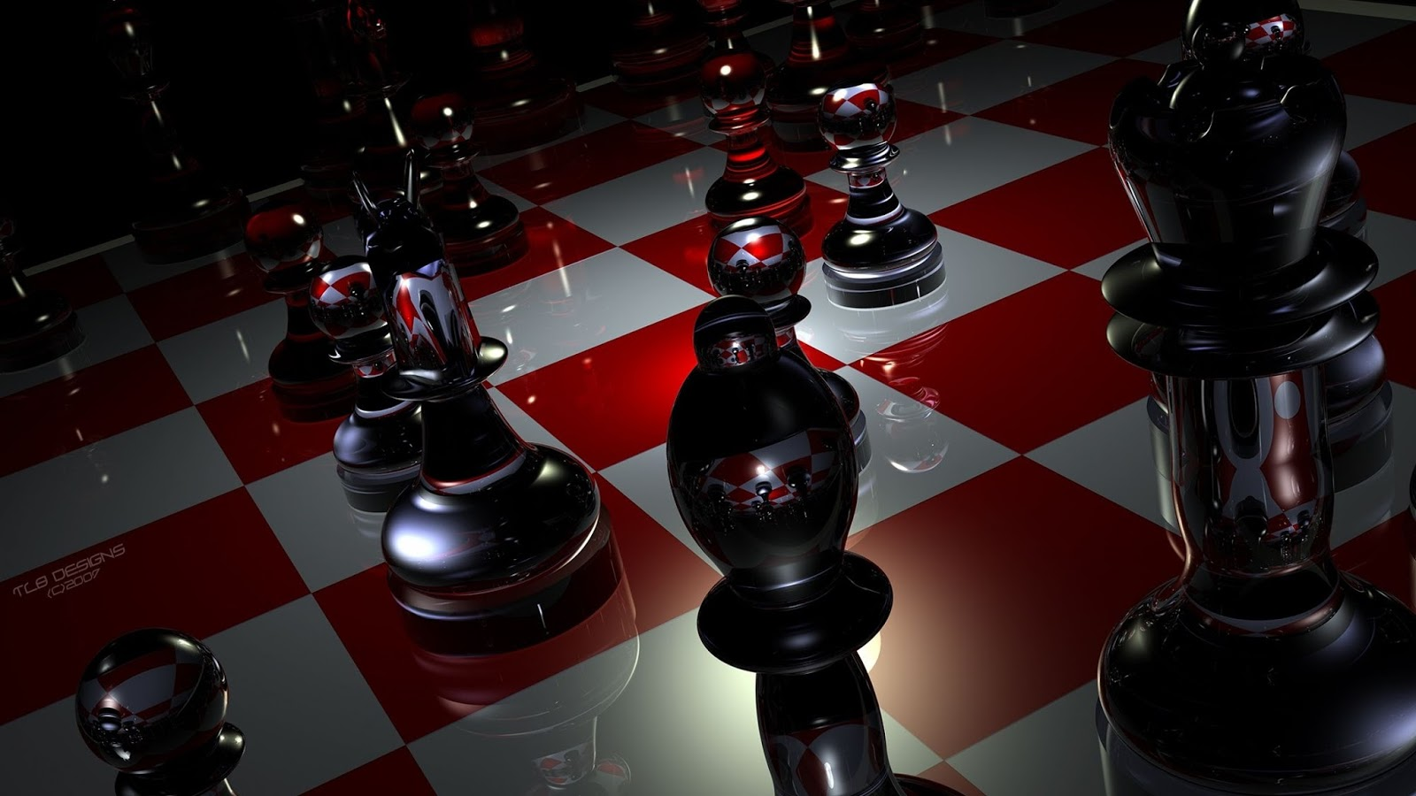 Top Wallpapers Free Download Pieces Chess Boards Glass Wallpaper