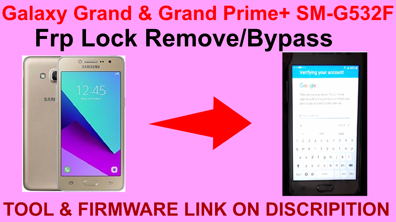 How To Remove Frp Lock Samsung Galaxy Grand Prime December