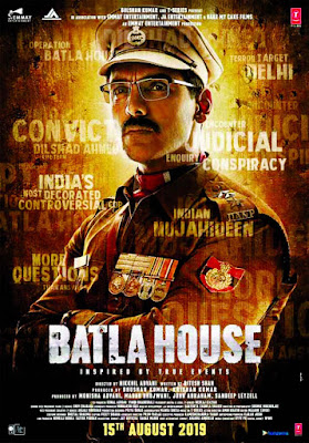 Batla House 2019 Hindi Pre-DVDRip 400Mb Download