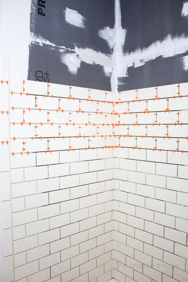 How to easily tile a shower yourself! DIY bathroom renovation.