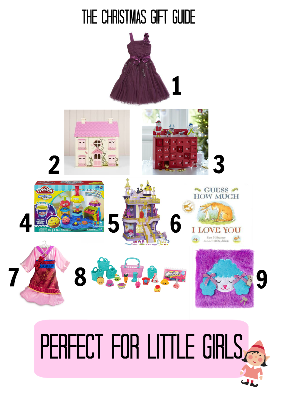 Christmas Gift Guides: Perfect For Little Girls | brummymummyof2