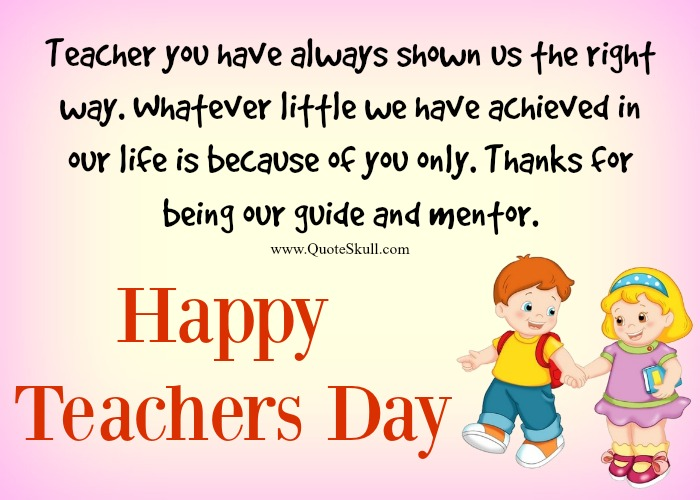 33+ Teacher Day Messages To Honor Our Teachers From Students
