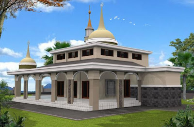 Kumpulan  Gambar Masjid Minimalis Sederhana Terlihat Keren
