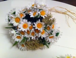 papatya gelin buketi gelin çiçeği satın al