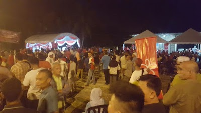 Razali Malu Target 2000 Orang GAGAL di Ajil