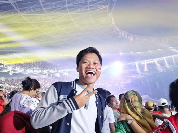 Pengalaman 'Ngikut' Torch Relay dan Keseruan Opening Ceremony Asian Games 2018!