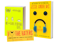 Prize pack for The Haters by Jess Andrews