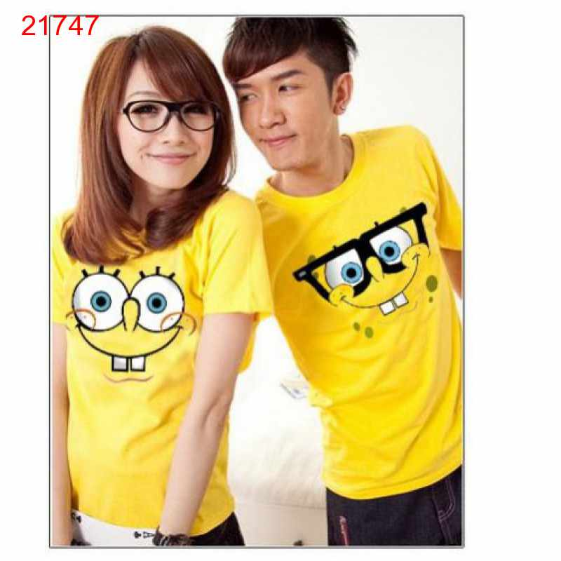 Jual Baju Couple OB Spongebob - 21747