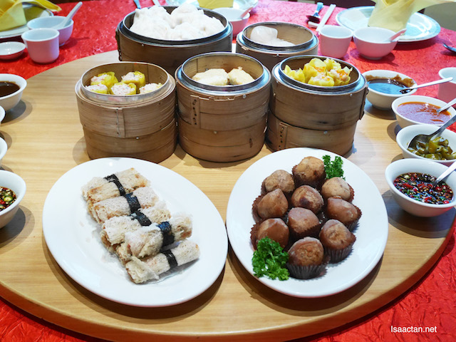 That's a whole lot of dim sum