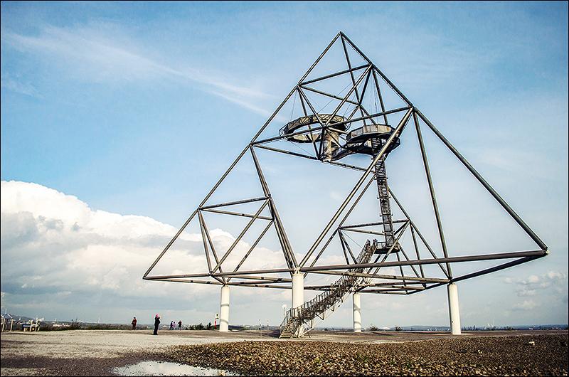Stephanie Berger - Tetrahedron - Bottrop - Fotografie