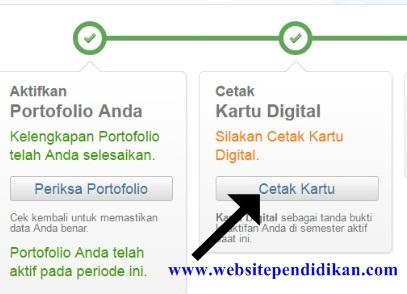 Cara Cetak Kartu Digital Identitas PTK/GTK di Simpatika Padamunegeri Tahun Pelajaran 2016/2017 Semester 1