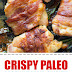 Crispy Paleo Bacon Wrapped Chicken #easydinner #paleo