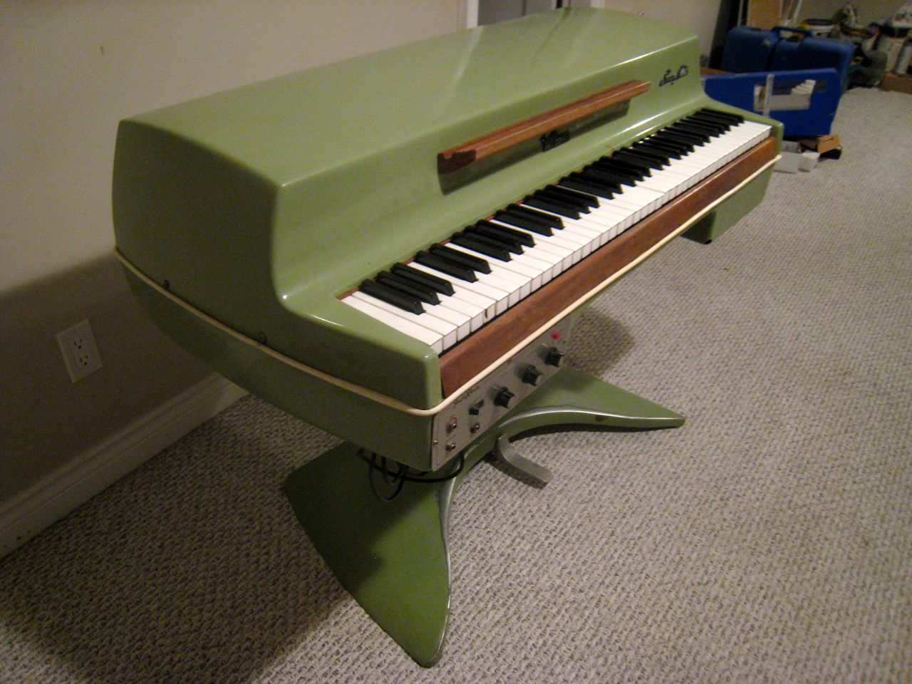 matrixsynth 1969 fender rhodes student piano jetsons model. Black Bedroom Furniture Sets. Home Design Ideas