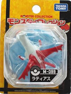 Latias figure Takara Tomy Monster Collection M series