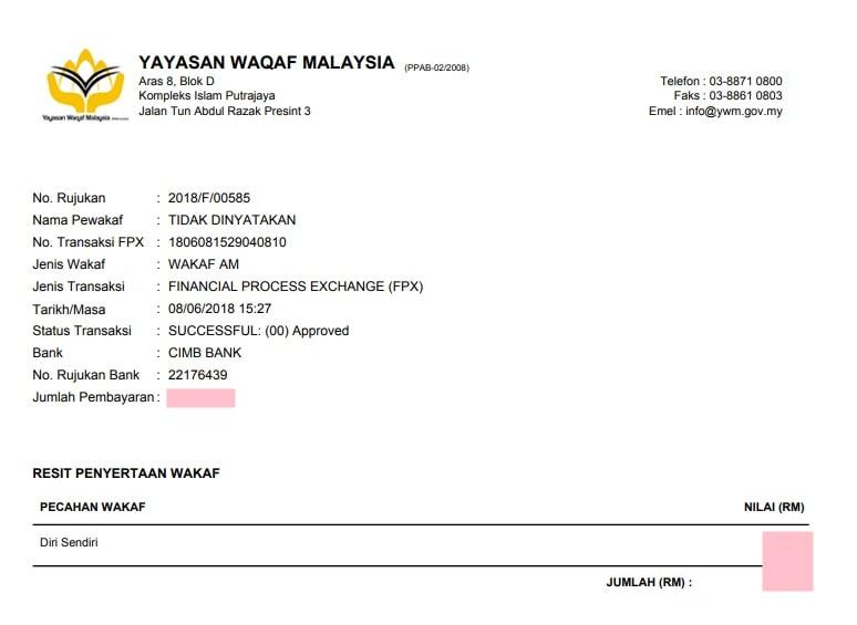 yayasan waqaf malaysia