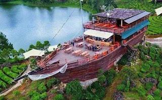 Pinisi Resto Dan Glamping Lakeside Ciwidey