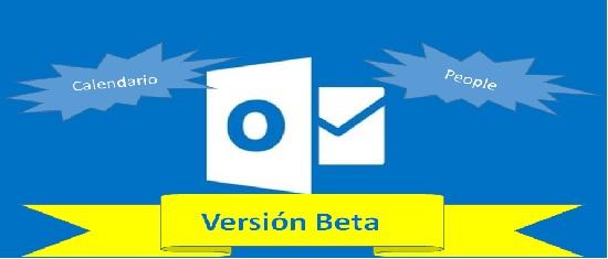 nuevas funciones en la versión beta de Outlook.com