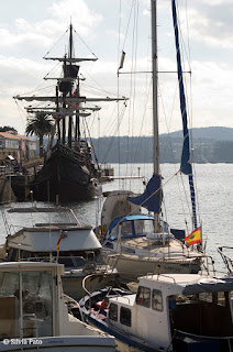 Nao Victoria en Ferrol
