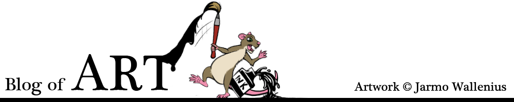 art blog of jarmo wallenius  project cartoon rat
