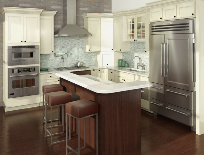 The byers project kitchen island trends - Two tier kitchen island ...