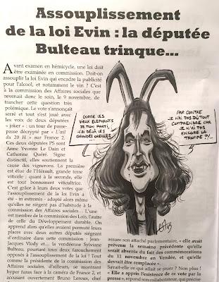 Dans le Sans-Culotte 85 de Décembre-Janvier !! L'efficace député Bulteau... - ©Guillaume Néel