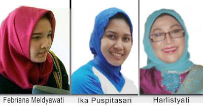 Tiga Perempuan Pimpin Kota Mojokerto