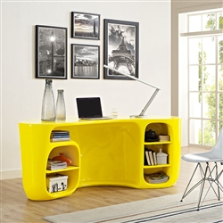 Modern Yellow Office Desk