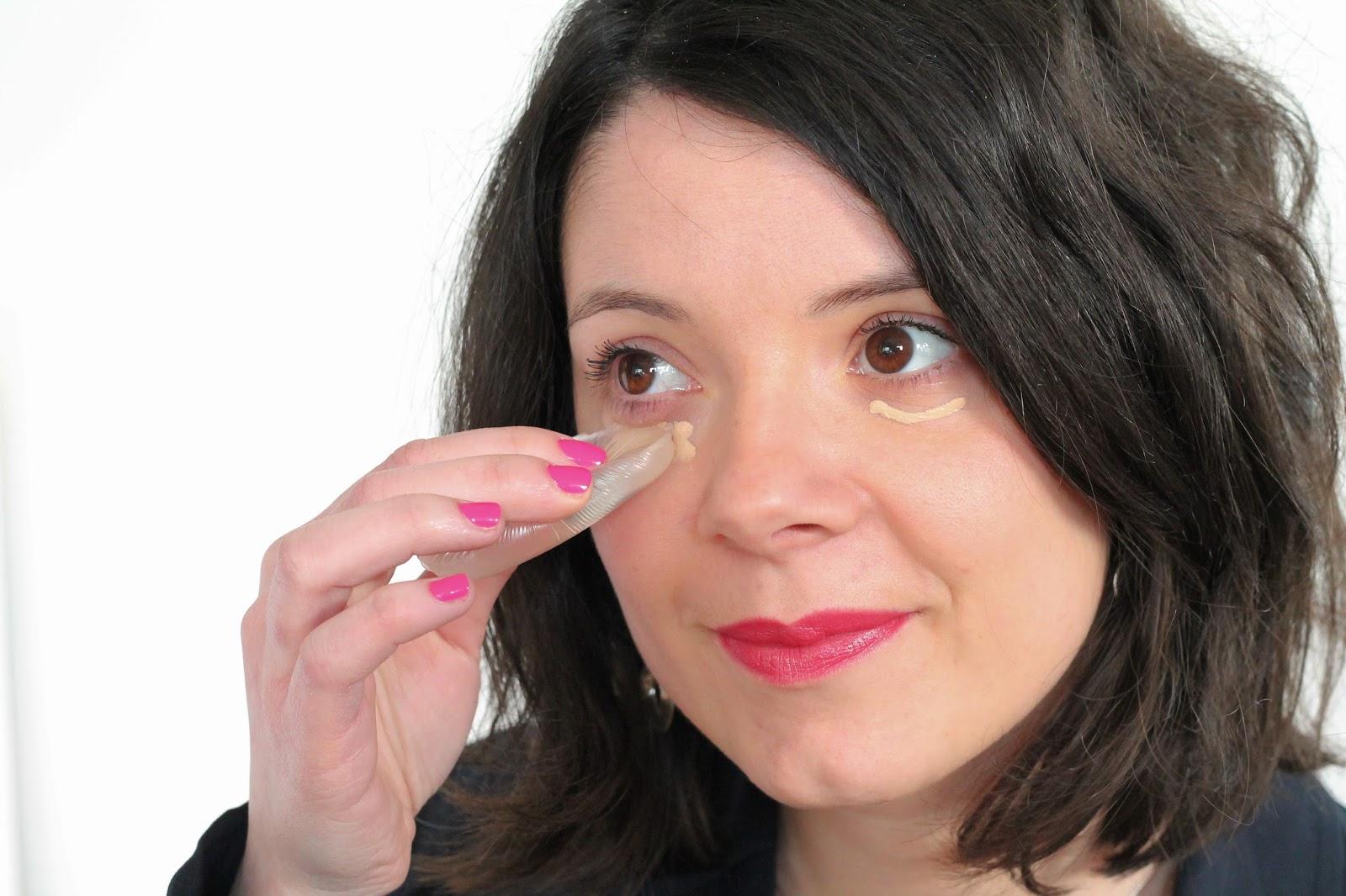 les gommettes de melo secret beauté astuces coulisses dessous du make up maquillage silidrop éponge silicone anti cerne fond de teint pinceau