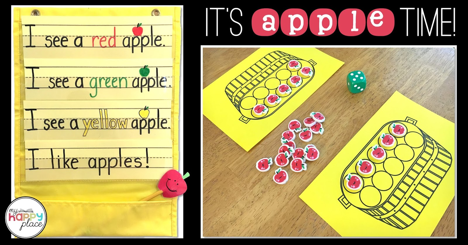 My Happy Place Teaching It S Apple Time Ideas And