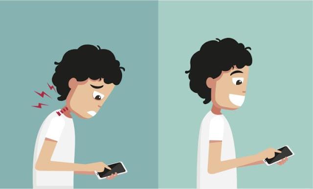 Jangan Sampai Teknologi Merampas Kesehatanmu!, Beginilah 3 Posisi Salah Saat Pakai Gadget