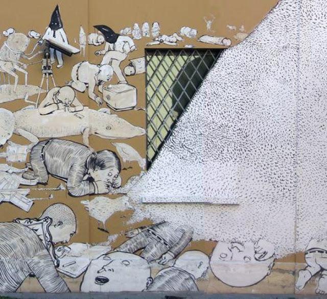 Пионер настенной живописи. Blek le Rat 2