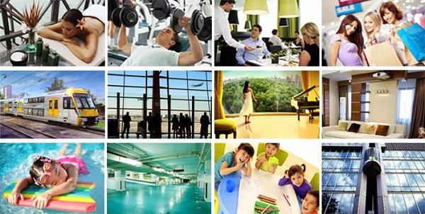 Dịch vụ tiện ích đầy đủ cung cấp tới Quý cư dân Thanh Xuân Complex